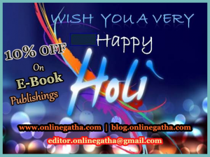 Holi offer on Onlinegatha